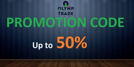 Olymp Trade Promosyon Kodu - %50'ye Varan Bonus